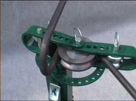 Cintreuse manuelle UB 10 d'Opti-Machines (vidéo 11) - YouTube