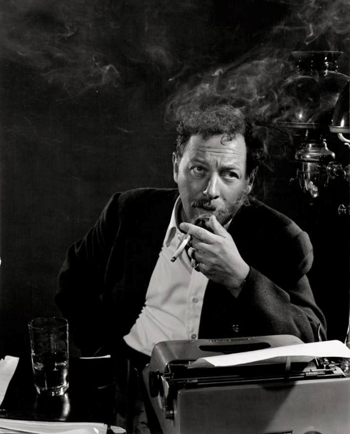 Tennessee Williams, 1956