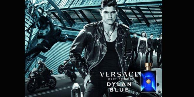Dylan Blue il nuovo profumo Versace