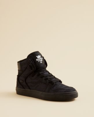 Supra Boys' Camouflage Vaider Sneakers - Toddler