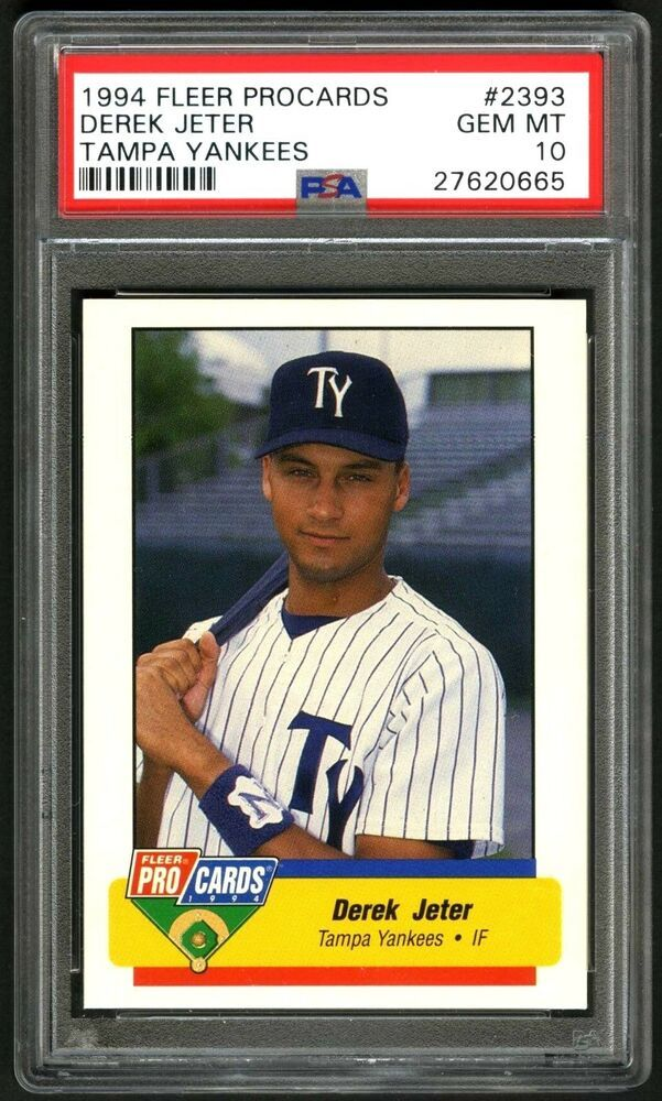 Derek Jeterrare 1994 Procards Psa 10 Gem Mint Minor League
