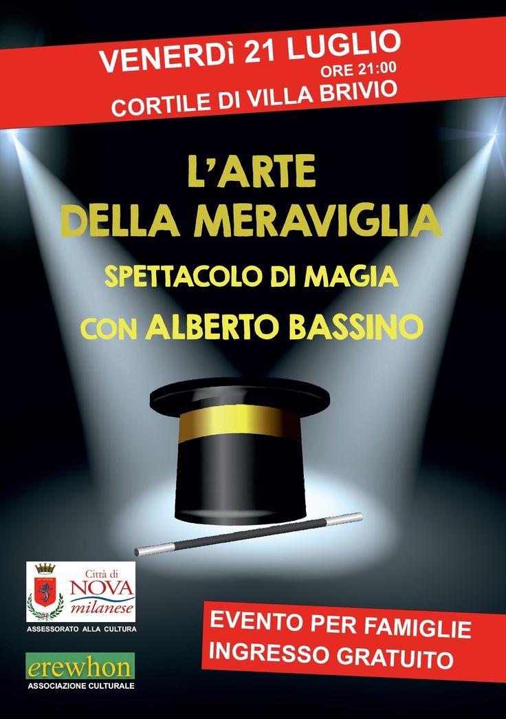 L'Arte della Meraviglia - Spettacolo di magia con Alberto Bassino