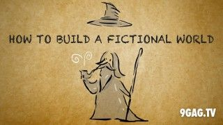 How To Build A Fictional World Like Harry Potter, The Matrix And Lord Of The Rings - 9GAG.tv