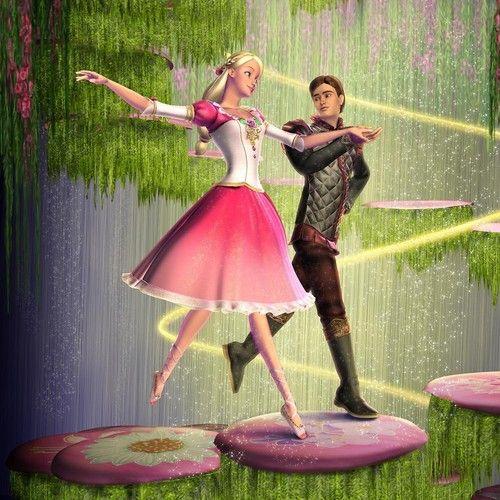 Barbie in The 12 Dancing Princesses Video game