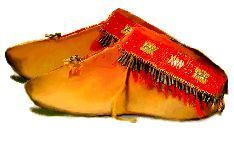 Moccasins.... Six differnt patterns for moccasins. Native American moccasins were designed for their specific environment. ie the turned up toe of many two-peice moccasin would be worn by the Apache.