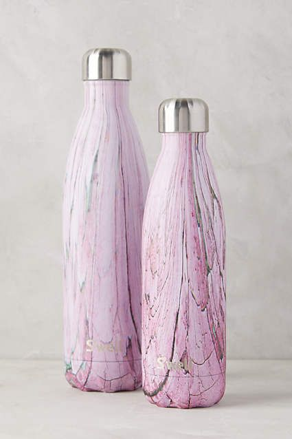 Anthropologie.com | Because every detail counts, even when working out. Shop the S'well Reusable Water Bottle for a cool, eco-friendly water bottle!