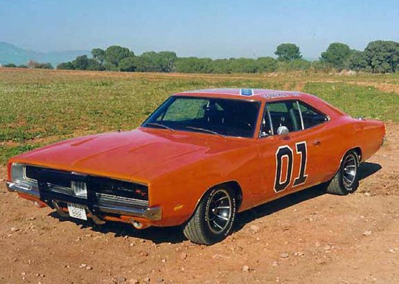 Classic Movie Cars: 1969 Dodge Charger (The Dukes Of Hazzard)
