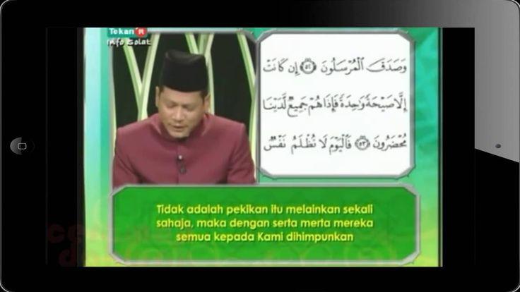 SURAT YASIN DENGAN TULISAN ARAB DAN INDONESIA