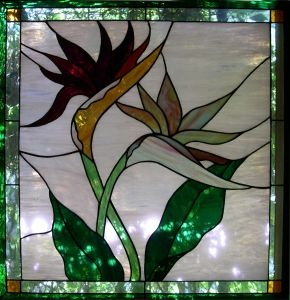 117 best stained glass hawaiian flowers images on for Glass painting tips and tricks