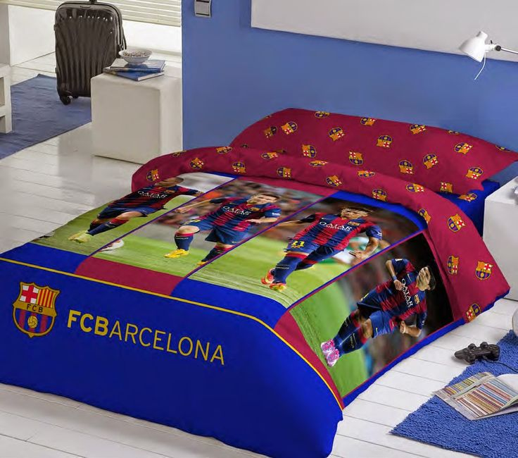 16 best euromoda ropa de cama futbol club barcelona images on pinterest bedspreads beds and - Funda nordica barcelona ...