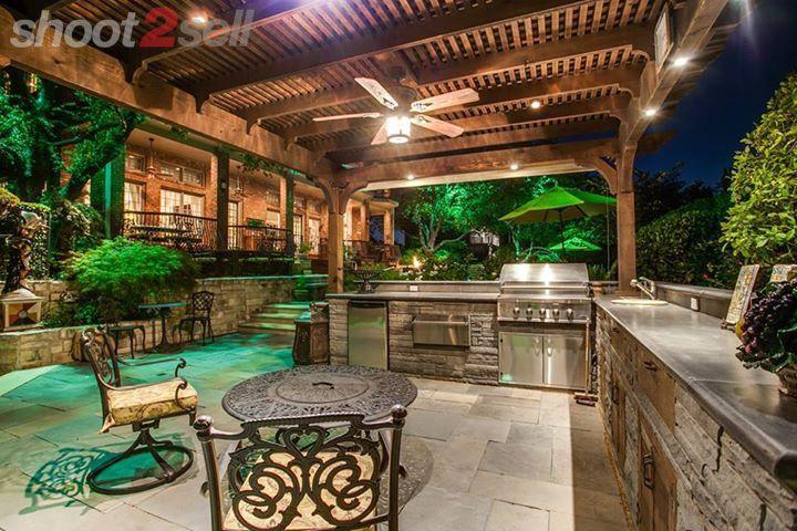 85 best Backyard bar b q areas images on Pinterest | Decks ...