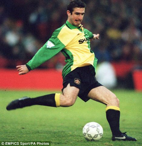 eric cantona manchester united - Google Search