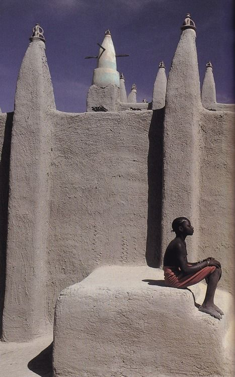 in Mali, photographed byMaggie Steber forBeyond The Horizonpublished by National Geographic Society, 1992