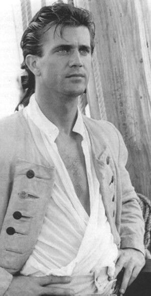 A young Mel Gibson
