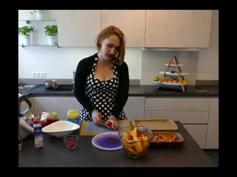 # 2 Hähnchen + Kartoffelspalten mit den Produkten von Pampered Chef ® ( Ofenzauberer ®, Ofenhexe ® ) - YouTube