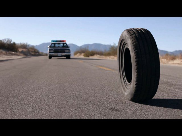 RUBBER | 2010 | Quentin Dupieux | A murderous car tire with psionic head exploding abilities rampages through a small desert town. Not to mention the self reflective cinematic analysis.