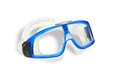 Aqua Sphere Seal 2.0 Swim Mask - great for open water swimmers and those who suffer from too-tight goggle marks.