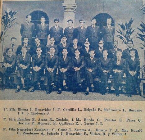 Quinto año de bachillerato en el colegio javeriano de Pasto