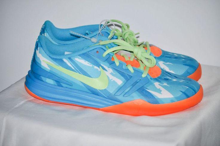 Nike Kids Grade School KB Mentality Basketball Shoes Clear Water Blue size 7 #Nike #BasketballShoes