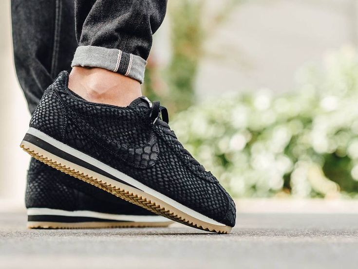 "Nike Cortez Leather ""Black Anaconda"" - EU Kicks: Sneaker Magazine"