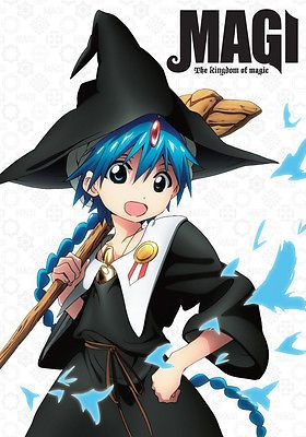 awesome Magi The Kingdom of magic complete dvd sets - For Sale