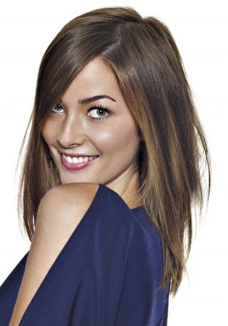 coupe longue lisse jean louis david - Coloration Chatain Clair Miel