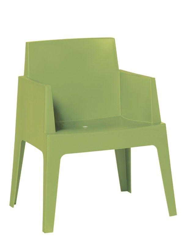 Garden Impressions Box stoel met armleuningen licht groen