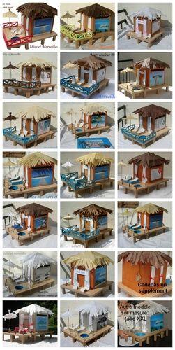 Pour vous aider dans vos choix pour la décoration de votre urne bungalow sur pilotis voici une palette de modèles déjà réalisés. Avec...