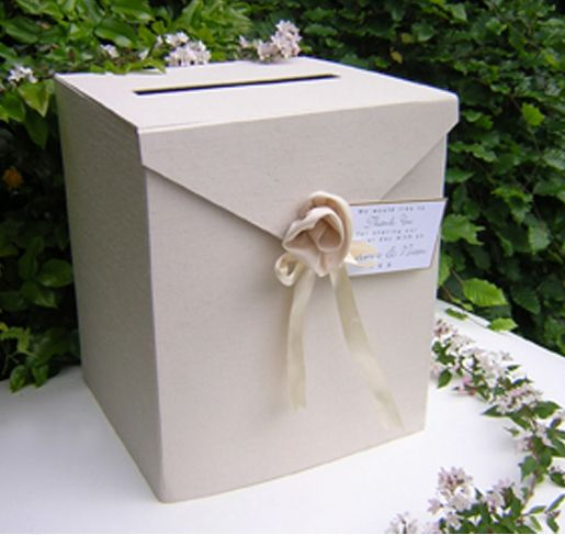 Box For Wedding Cards At Reception