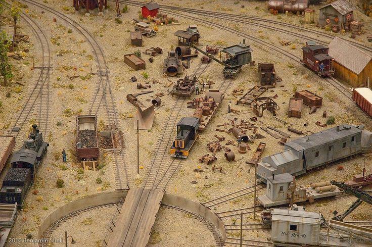 Narrow Gauge Layout Model Railroad Buildings Model