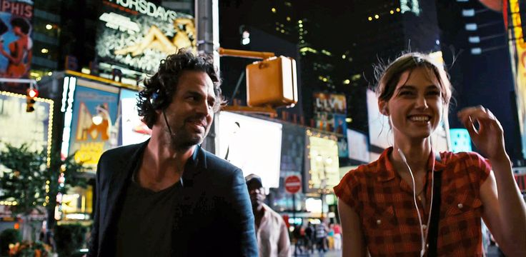 Mark Ruffalo and Keira Knightley in Once director John Carney's new film Begin Again, formerly titled Can a Song Save Your Life?. Beautiful New York City scenes. See the trailer here: http://onfs.net/1f09MdK