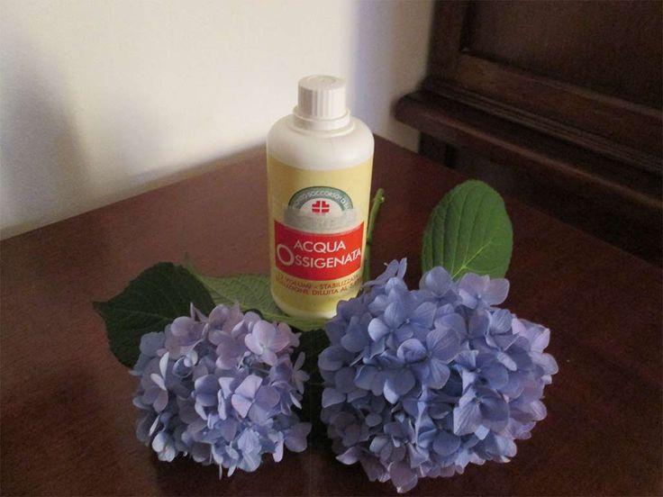 Le notevoli proprietà dell'acqua ossigenata utile ridurre i sintomi del raffreddore, uccidere germi e funghi, pulire le orecchie e schiarire le unghie