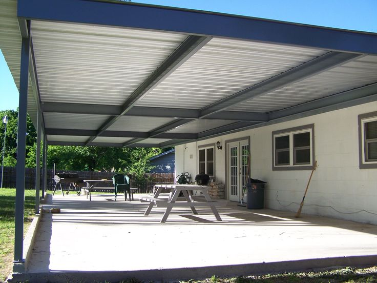 17 Best ideas about Metal Patio Covers on Pinterest