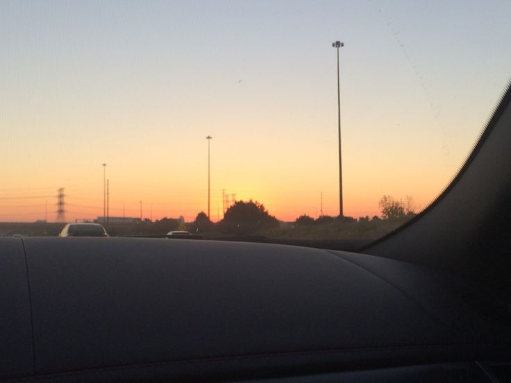 Liked the way the sky was