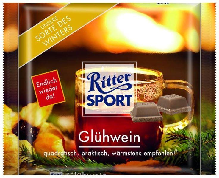 RITTER SPORT Fake Schokolade Glühwein