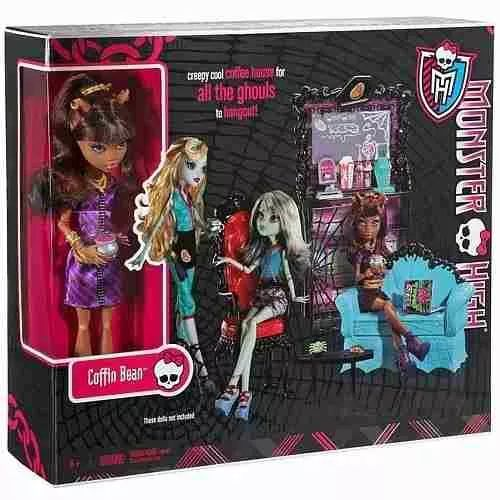 Monster High Coffin Bean Y Clawdeen Wolf set - $ 2.999,99