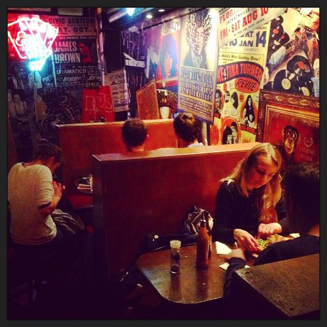 Love this slice of #Americana in #TufnellPark @Aces_Bar #Rock #bar - smells of #Pizza and #RocknRoll! Get the #Kooky #London #App http://bit.ly/11XgicP #ig_London #igLondon #London_only #UK #England #British #iPhone #quirky #photoftheday #photography #picoftheday #igerslondon #lovelondon #timeoutlondon #instalondon #londonslovinit #mylondon #pub #boozer #Padgram