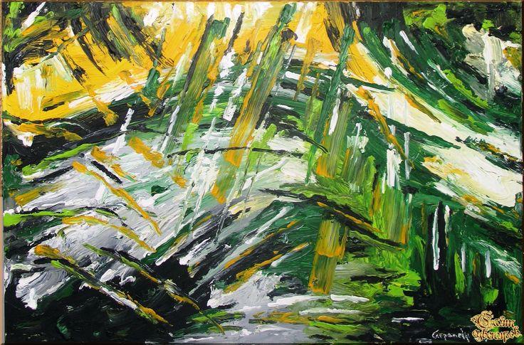 Abstract - 563 Абстракция, картины, картина маслом, сувенир, подарки
