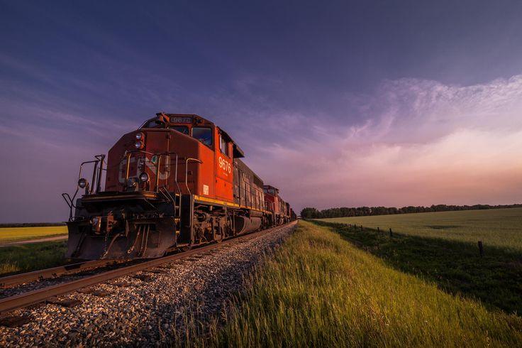 CN Train by Paul Lavoie on 500px