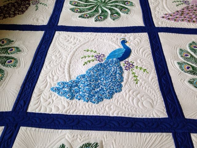 Peacock Quilt                                                                                                                                                                                 More