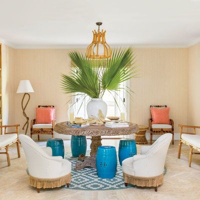 12 Ways to Infuse Your Home with Island Style: You can never have too much bamboo and rattan. | Coastalliving.com