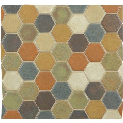 Hexagon Tile Backsplash For The Home Pinterest