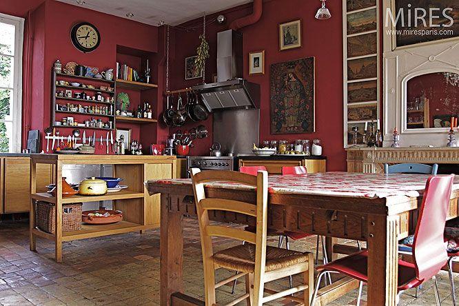Les 779 meilleures images propos de maison et jardin sur for Cuisine ancienne campagne