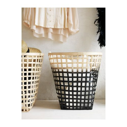 nipprig 2015 basket assorted colors 50x50 cm ikea hamper for laundry home pinterest. Black Bedroom Furniture Sets. Home Design Ideas