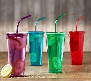 Color and practical way to enjoy your favorite #beverage. Prepology Double Wall Tumblers!