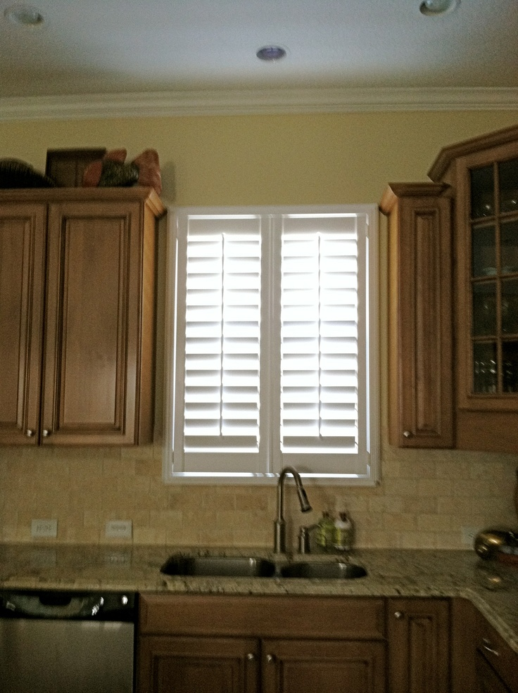 12 best images about plantation shutters on pinterest for Window treatments with shutters