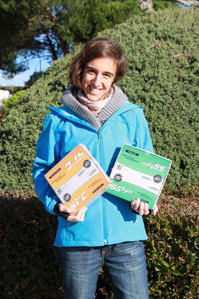 Irene Rodriguez, ganadora de uno de nuestros packs del sorteo #Recuperación celebrado el pasado mes de marzo
