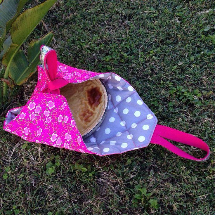 Le sac à pique-nique molletonné - Quilted bag for picnic