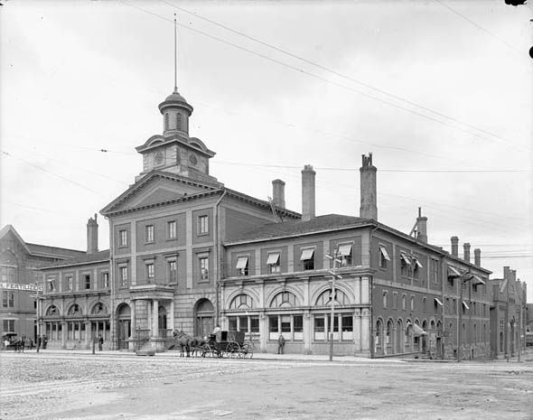 Toronto City Hall in the 1890s