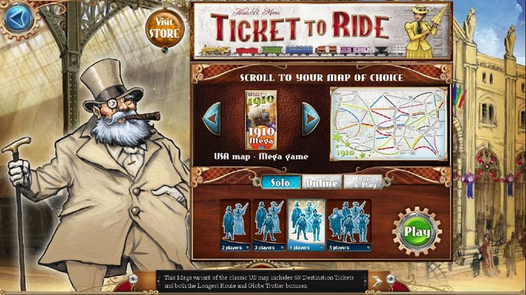 ticket to ride how to play
